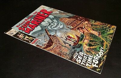 """Sub-Mariner #16!! """"the Sea That Time Forgot""""!!  T.o. Collection!! Nice Copy!"""