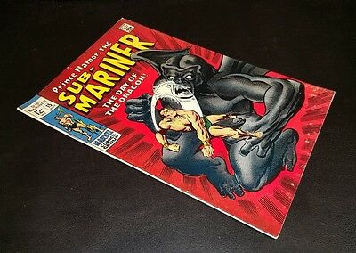 Sub-Mariner #15!! Featuring Dragon Man!!  T.o. Collection!! Awesome Copy!!