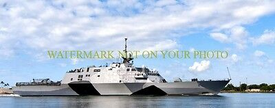 USS Freedom LCS 1 11X28 Photo Poster Print Military 11x28 Wide USN Navy