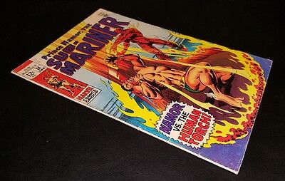 Sub-Mariner #14! Namor Vs. The Human Torch!  T.o. Collection!! A True Classic!