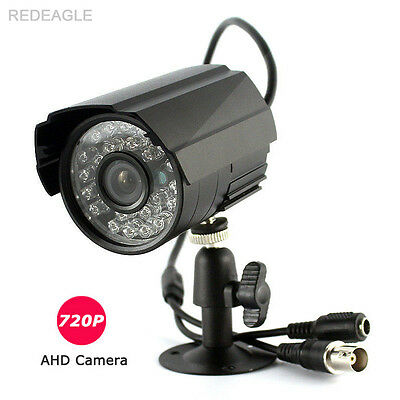 HD 720P AHD Outdoor Waterproof Security Camera CCTV 1MP 24 IR Night Vision Metal