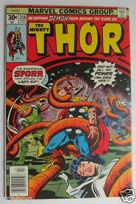 Vol. 1 # 256 Thor the Mighty Comic VF 1976