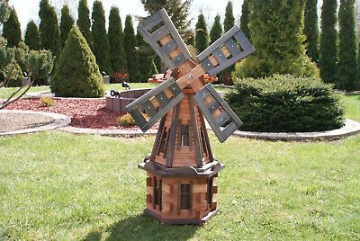 Large Wooden Windmill 100 cm - 235 cm Wood Windmills FREE P&P Garden Ornaments