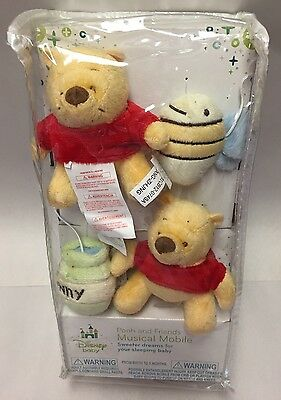 Disney Baby Winnie The Pooh Pooh and Friends Musical Mobile