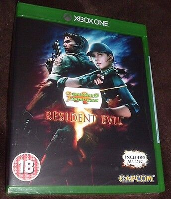 Resident Evil 5 HD Remake XBOX ONE XB1 NEW SEALED Free UK p&p UK SELLER