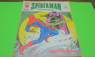 Spiderman Mundi Comics (Vertice) Vol. 3    Num. 7  1974   Buen Estado.