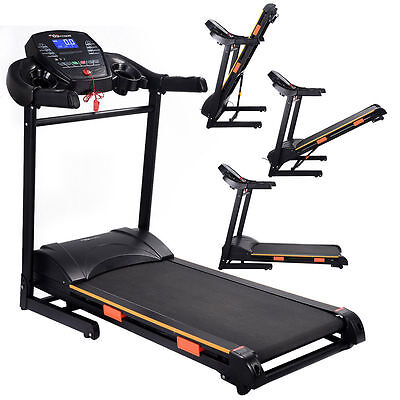 Home Gym Equipment Electric Treadmill Folding Fitness Workout Running Machine