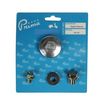 PRIMA MAGNETIC OIL DRAIN KIT FOR GY6 50cc & 150cc MOTORS