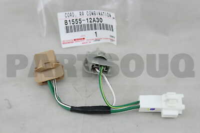 8155512A30 Toyota SOCKET & WIRE SUB-ASSY, REAR COMBINATION LAMP, RH/LH