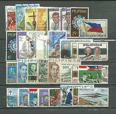 Philippines, 32 Various, Used
