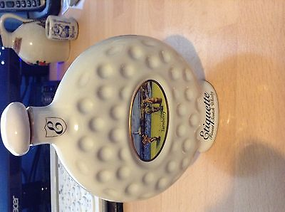 Early Pottery Wade Golfing Etiquette Whisky Bottle