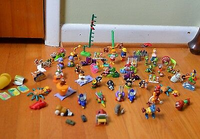Collection Of Ferrero Kinder Egg Toys Mission Moles Super Spacys Aladdin