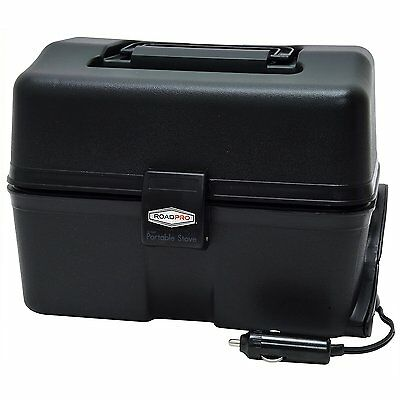 12 Volt Portable Stove Food Warmer Car Travel Camping Automotive Electric Lunch