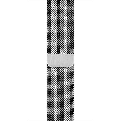 Apple - Milanese Loop for Apple Watch 38mm - MJ5E2ZM/A - Stainless Steel