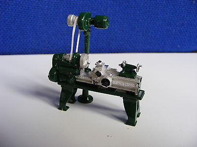 Workshop Lathe in Green - 1:43 Finished White Metal Model