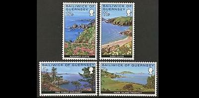 GUERNSEY SG141-144 1976 VIEWS Set of 4v Unmounted Mint
