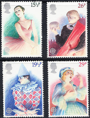 SG1183-1186 1982 EUROPA THEATRE Unmounted Mint