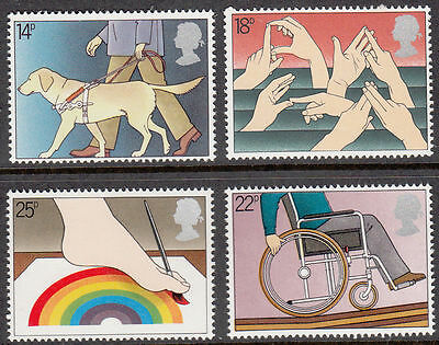 SG1147-1150 1981 International Year of the Disabled Unmounted Mint