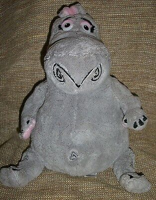 "Kohl's Cares plush Madagascar 11"" tall Gloria Hippo Gray Dreamworks"