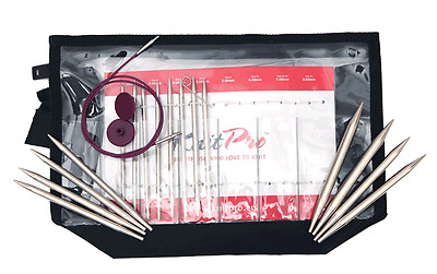 KnitPro KP10613 | Nova Metal Deluxe Interchangeable Circular Knitting Needle Set
