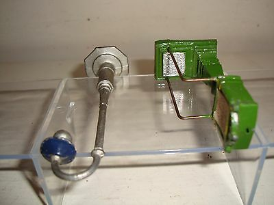 "Vintage  Model ""O"" Platform Station Accessories -unknown maker- very good-c1930s"