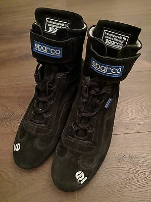 Sparco Top Driver High Boot, to FIA 8856-2000, Black, Size EU47/UK12