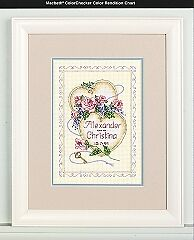NEW   Dimensions D06730 United Hearts Wedding Record Counted Cross Stitch Kit