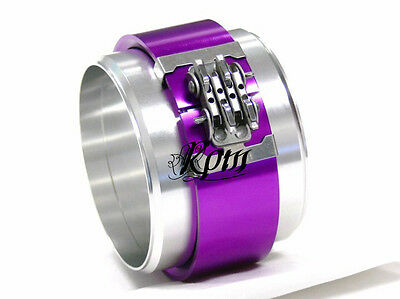 OBX Racing Sports ALUMINUM PEGASUS TURBO CLAMSHELL CLAMP 3.0 Clamps Purple