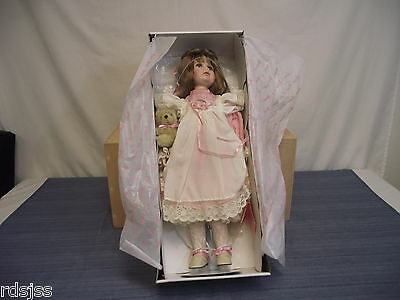 Effanbee Doll Company MP131 Heather Doll Porcelin 1993