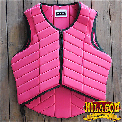 Hilason Adult Safety Equestrian Eventing Pink Protective Protection Vest Xl