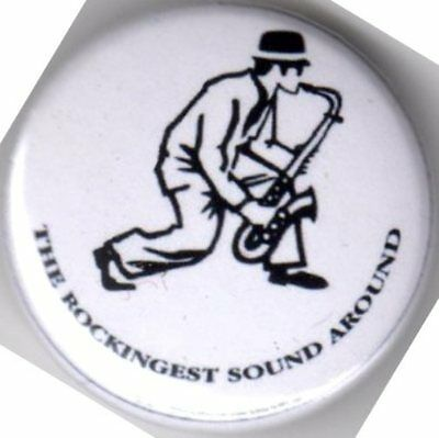 Madness Pin Badge The Rockingest Sound Around Ska Two Tone Rude Boy Rude Girl