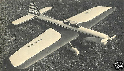 "Model Airplane Plans (UC): CHIPMUNK • 54½"" Stunt for .35-.40 Engines"