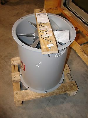 *NEW* Cincinnati Direct Drive Tube Axial Duct Exhaust Fan DDF DDF15-6-43
