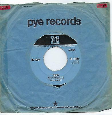 "Joe Dolan - Teresa - 7"" Vinyl Record Single"