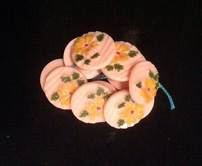 Vintage set of 10 Buttons