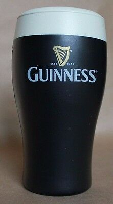 "Guinness Poured Rubber Figurine- Advertising 7"" Inch Irish Drinking Collectable"