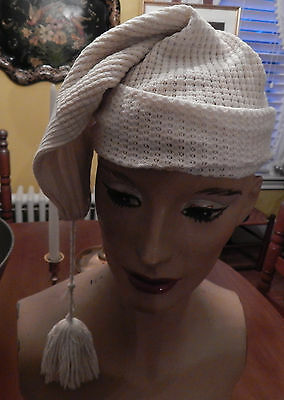 Antique Victorian Edwardian Child's Young Adult Stocking Cap Night Cap