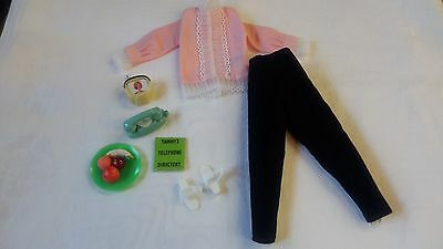 Vintage Ideal Tammy Doll Clothes, Ring-A-Ding Outfit, Complete & Nice!!