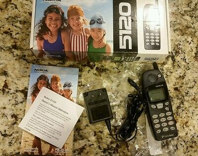 NOKIA 5120 CELL PHONE WITH ORIGINAL BOX, MANUAL, CHARGER. US CELLULAR Excellent