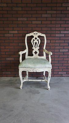 Dining Arm Chair / Accent Chair / Antique French Chair / Desk Chair
