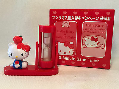Rare Hello Kitty 3-Minute Sand Game Timer, 2004, NEW IN BOX