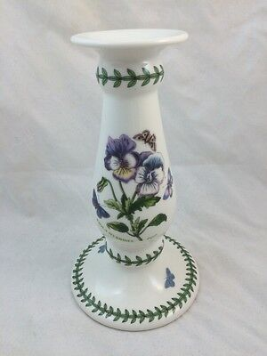 THE BOTANIC GARDEN Portmeirion Susan Williams-Ellis Candlestick Holder VIOLA