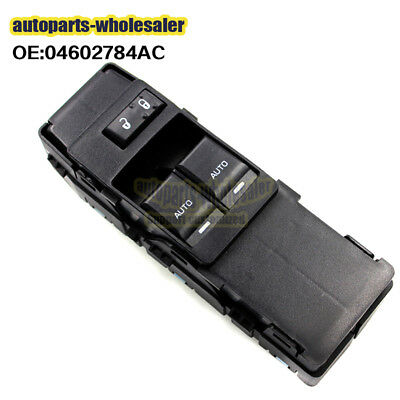 Front Driver Side Window Switch 04602784AC for 08-14 Dodge Challenger Brand New