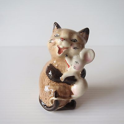 Vintage Beswick Figure, Cat Kitten and Mouse, 2180, Lovely Cute Collectible