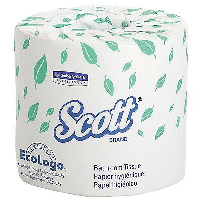 Scott Bulk Toilet Paper 04460, Individually Wrapped Standard Rolls, 2-PLY, 80 /