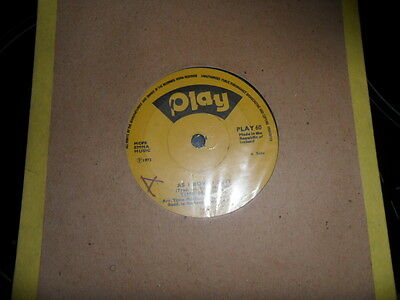 Time Machine As I Roved Out 1973 Single On Play Label