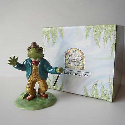 Royal Doulton Wind in the Willows, WW2, The Open Road, The Dusty Highway, 2003