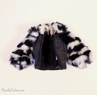 New Jacket Only For Barbie Silkstone Fashion Royalty Industry Doll