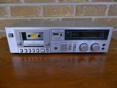 Technics RS-M218 Stereo Cassette Tape Deck Made in Japan