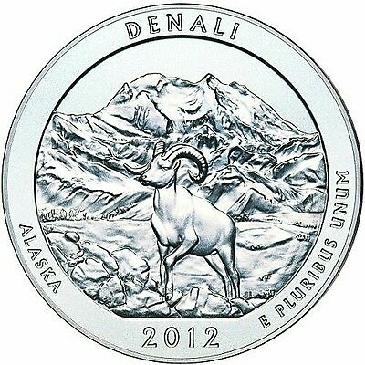 2012 Denali 5oz ATB Silver Coin Brilliant New US Mint SALE BEST PRICE ANYWHERE!!